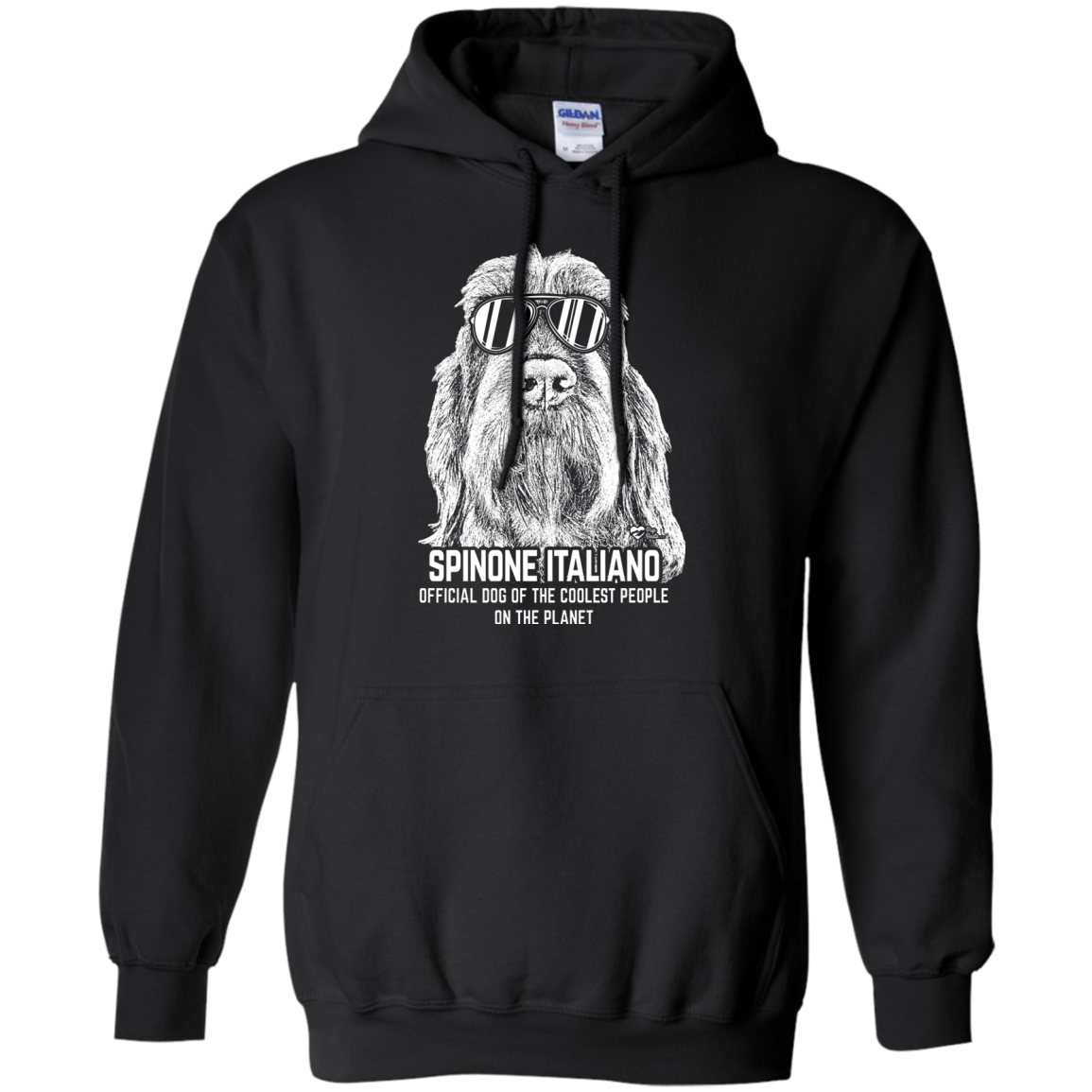 Official Dog Of The Coolest Spinone Italiano Hoodie