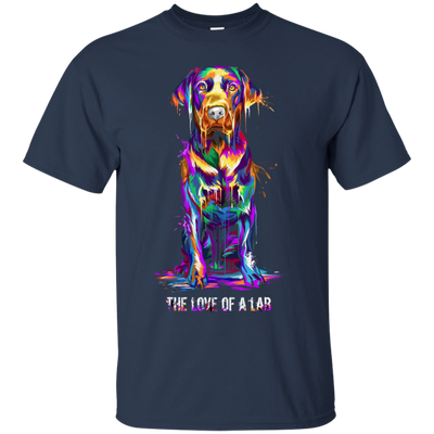 Labrador Retriever Spash Art Unisex T-Shirt