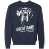 Official Dog Of The Coolest Great Dane Sweatshirt