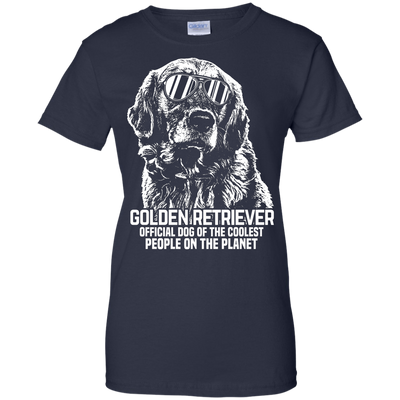 Official Dog Of The Coolest People Ladies' T-Shirt