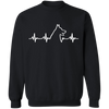 German Shepherd Heartbeat Sweatshirt