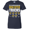 Stubborn Irish Setter Tricks Ladies' T-Shirt