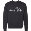 Labrador Retriever Heartbeat Sweatshirt