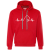 Boxer Dog Heartbeat Unisex Hoodie