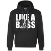 Like a a boss Border Collie Unisex Hoodie