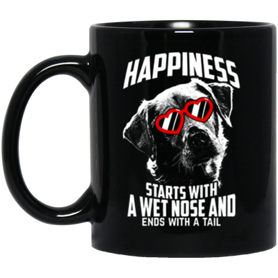 Labrador Happiness Starts With a Wet Nose