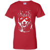 Sharing the love Border Collie Ladies' T-Shirt