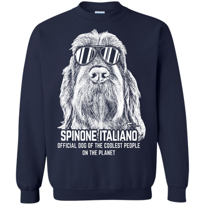 Official Dog Of The Coolest Spinone Italiano Sweatshirt