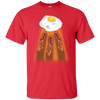 Egg Abducting Breakfast Unisex T-Shirt