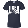 Like a boss english bulldog Ladies' T-Shirt