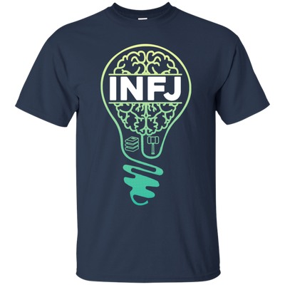 INFJ One Of A Kind Unique Personality Type Introvert Cotton T-Shirt