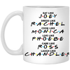Friends 11 oz. White Mug