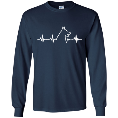 German Shepherd Long Sleeve Ultra Cotton T-Shirt