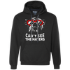 English Bulldog Can't See The Haters Hoodie