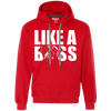 Like a boss english bulldog Unisex Hoodie