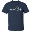 Great Dane Heartbeat Natural Ears Unisex T-Shirt