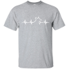 Pembroke Welsh Corgi heartbeat T-Shirt