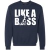 Like a a boss Border Collie Sweatshirt