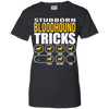 Stubborn Bloodhound Tricks Ladies' T-Shirt