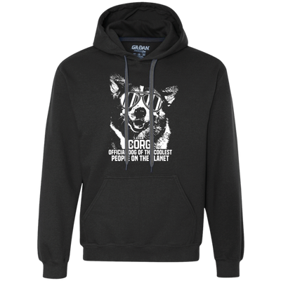 Official Dog Of The Coolest Corgi Unisex Hoodie