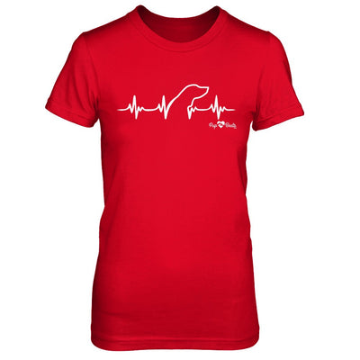 Coon Dog Heartbeat Fitted Short Sleeve Tee