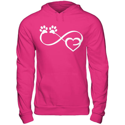 Dog Lover Infinite Love Infinity Symbol Hoodie