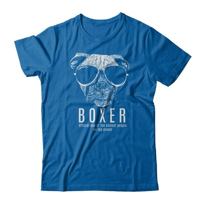 Official Dog Of The Coolest Boxer T-Shirt