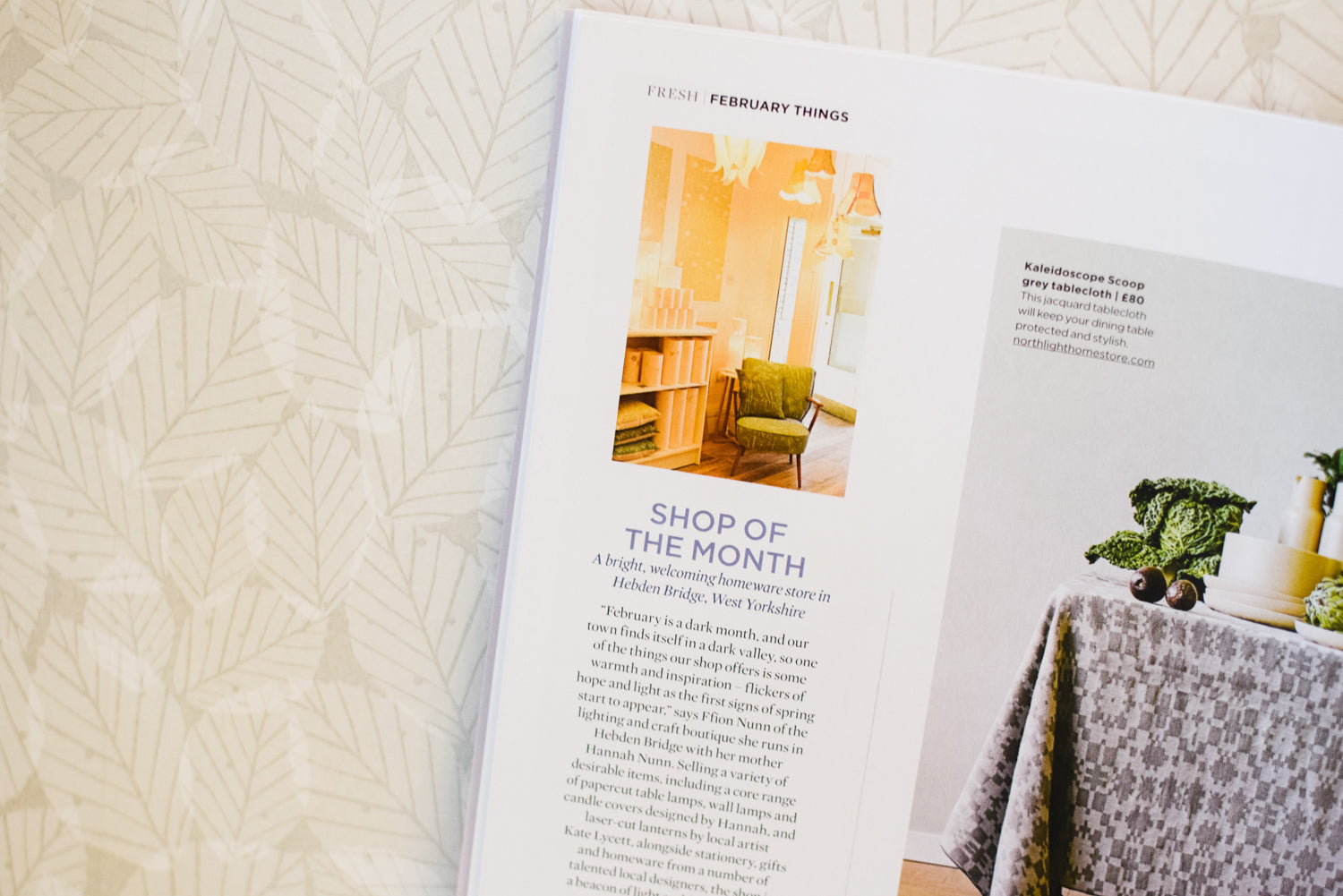 Radiance is The Simple Things magazine 'shop of the month' this February!