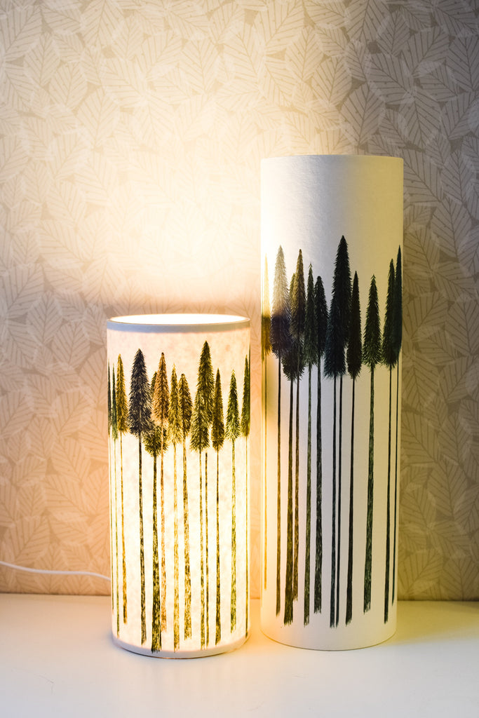 Green Trees Table Lamp