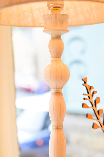 Pin Stripe Lamp Base no. 395