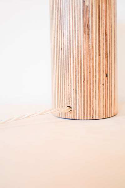 Mini Plywood 'Column' Lamp Base