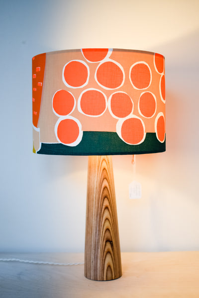 Tove - Screenprinted Fabric Lampshade