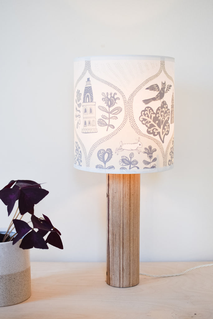 Cottages and Castles Lampshade