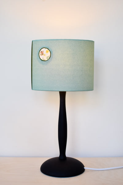 Green Butterfly Paper Lozenge Lampshade