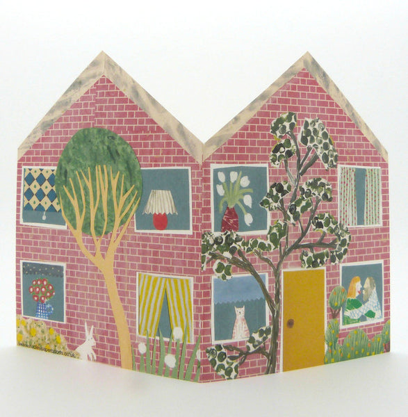 Little Townhouse - Greetings Card