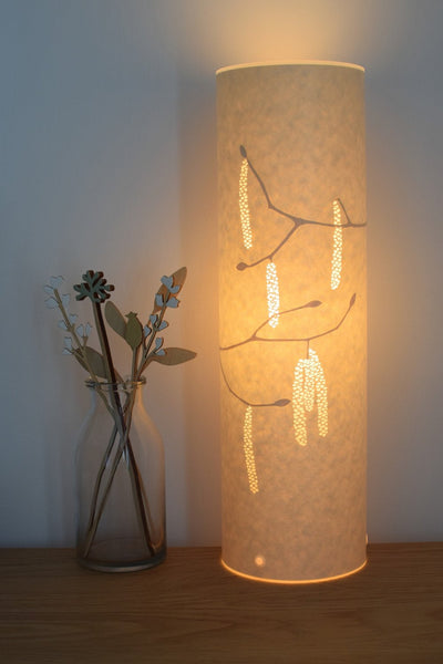 Hazel Catkins Table Lamp