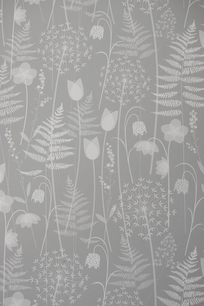 Charlotte's Garden wallpaper in Mist