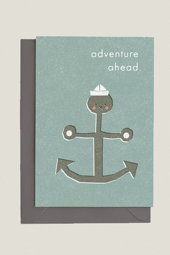 Adventure Ahead - Greetings Card