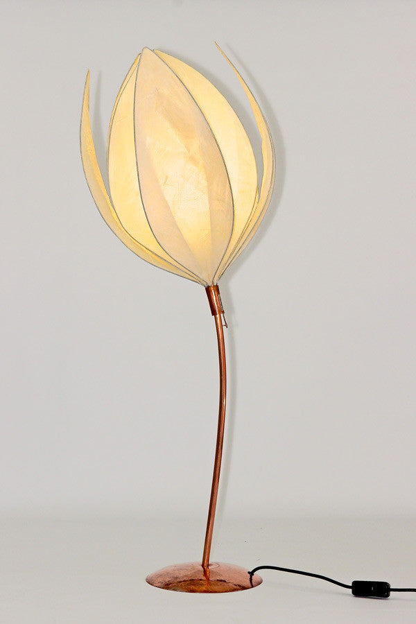 Small Curved-Stem Anemone Lamp