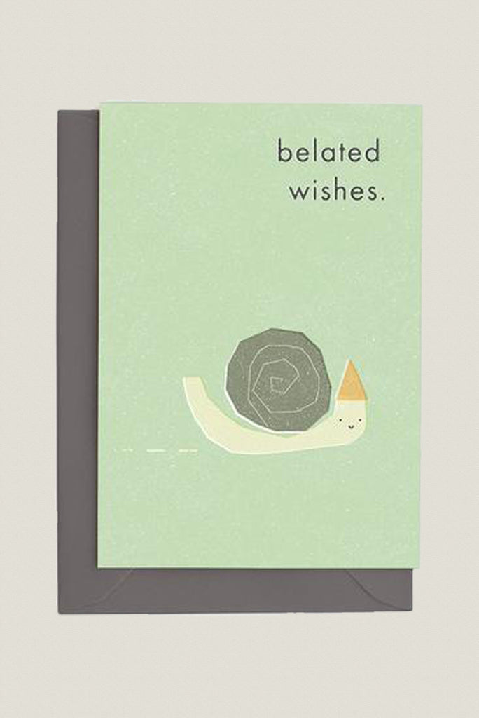 Belated Wishes - Greetings Card