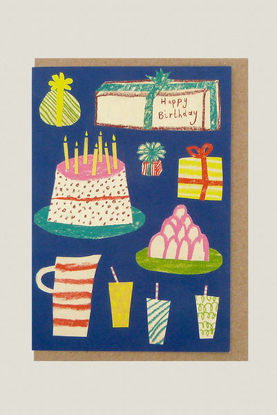 Birthday Party - Greetings Card
