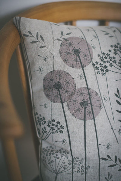 Paper Meadow Fabric in Blush