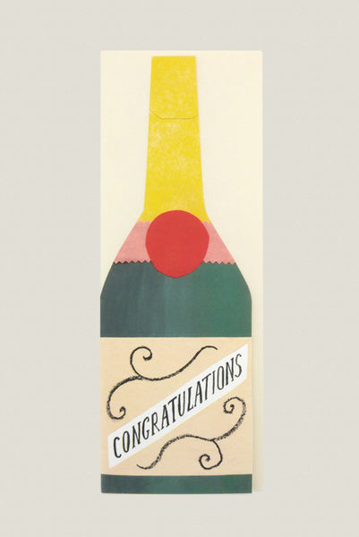 Champagne - Greetings Card