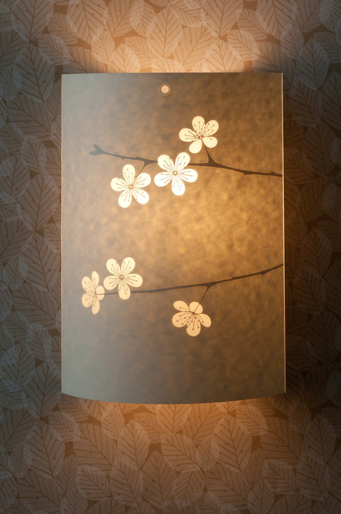 Cherry Blossom Wall Lamp