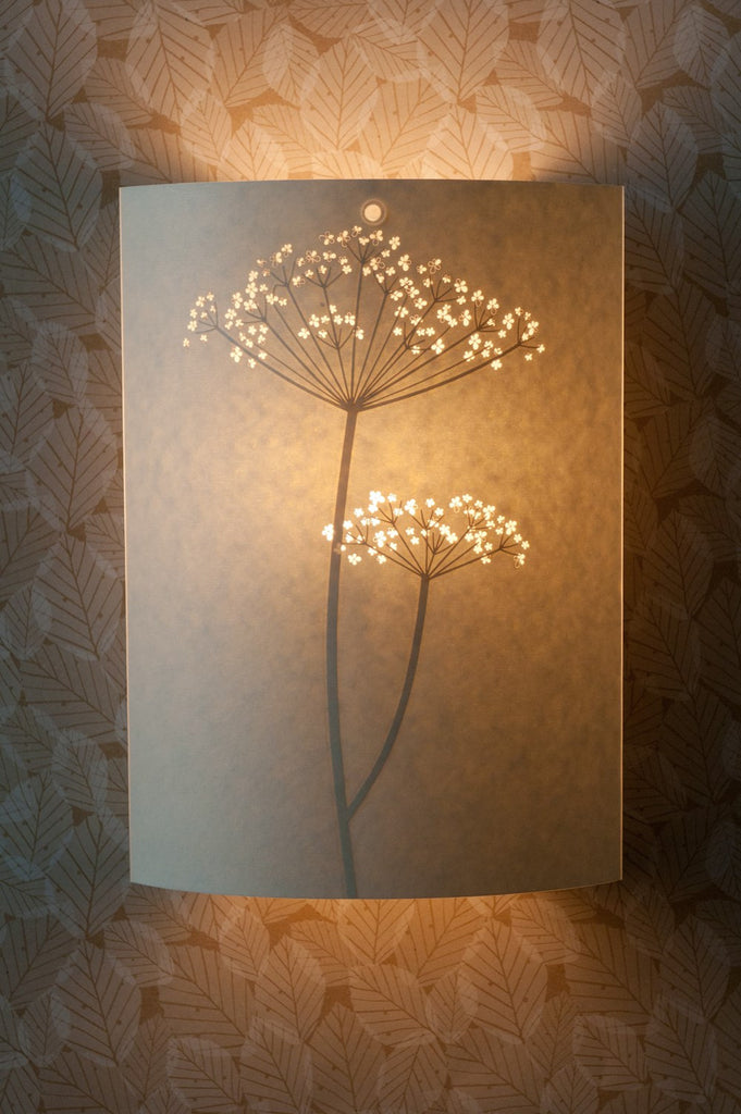 Cow Parsley Wall Lamp