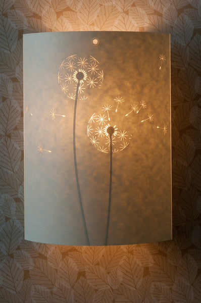 Dandelion Clock Wall Lamp
