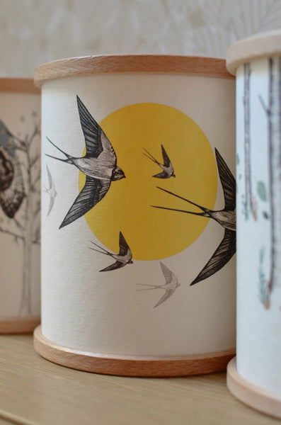 Swallow Candle Cover