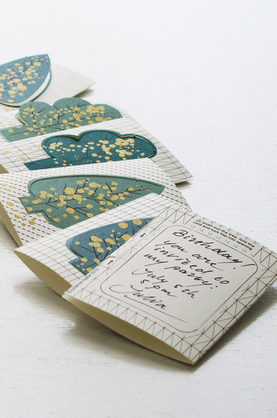 Forest Pop-up Gift Cards