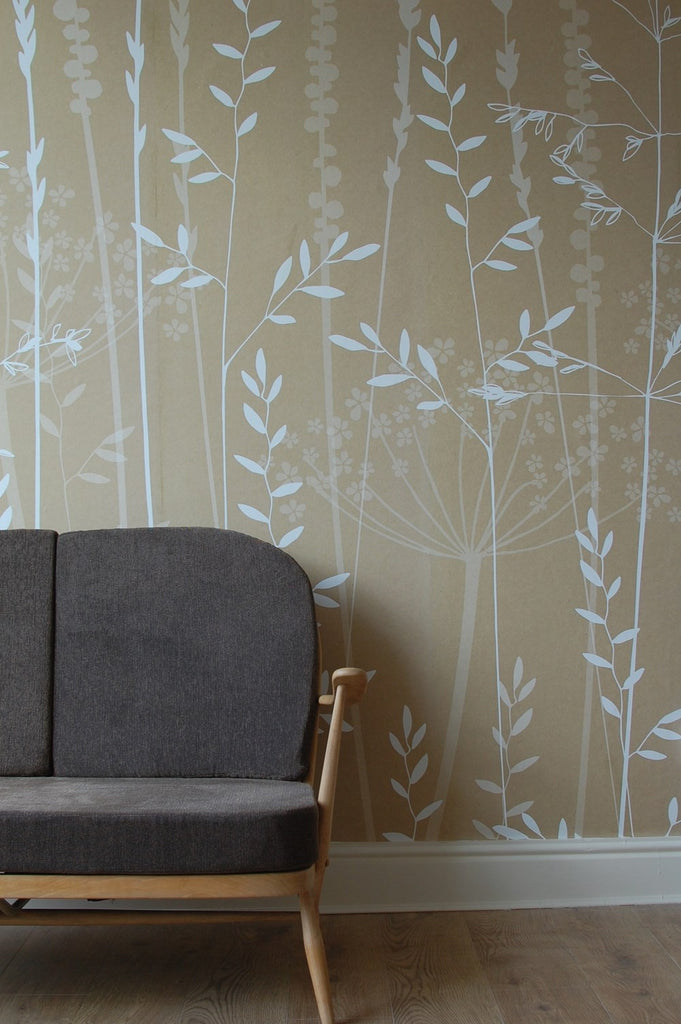 In The Tall Grass Wallpaper In Kraft