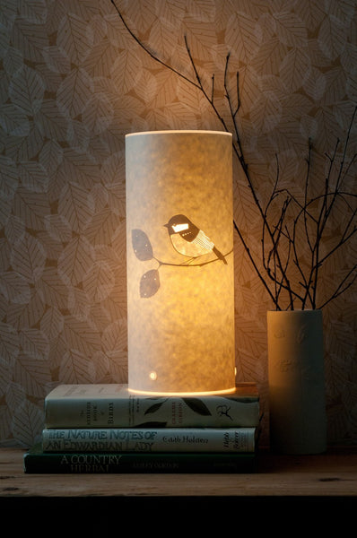 Coal Tit Table Lamp by Hannah Nunn from Radiance